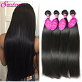 Mink Brazilian Hair 4 Bundles Brazilian Virgin Hair Straight Weave Rosa Hair Products Unprocessed Brazilian Straight Virgin Hair