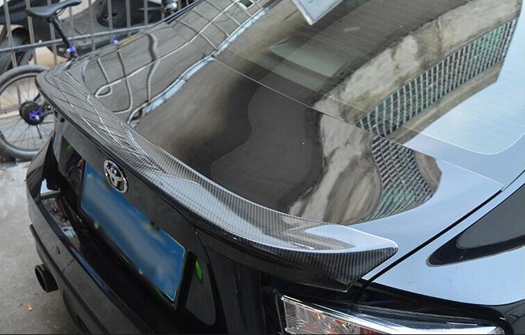 ARRIÈRE De VOITURE en Fiber de carbone AILE SPOILER de COFFRE CONVIENT POUR Toyota GT86/Subaru BRZ 2012 2013 2014 2015 2016 2017 TRD STYLE PAR EMS