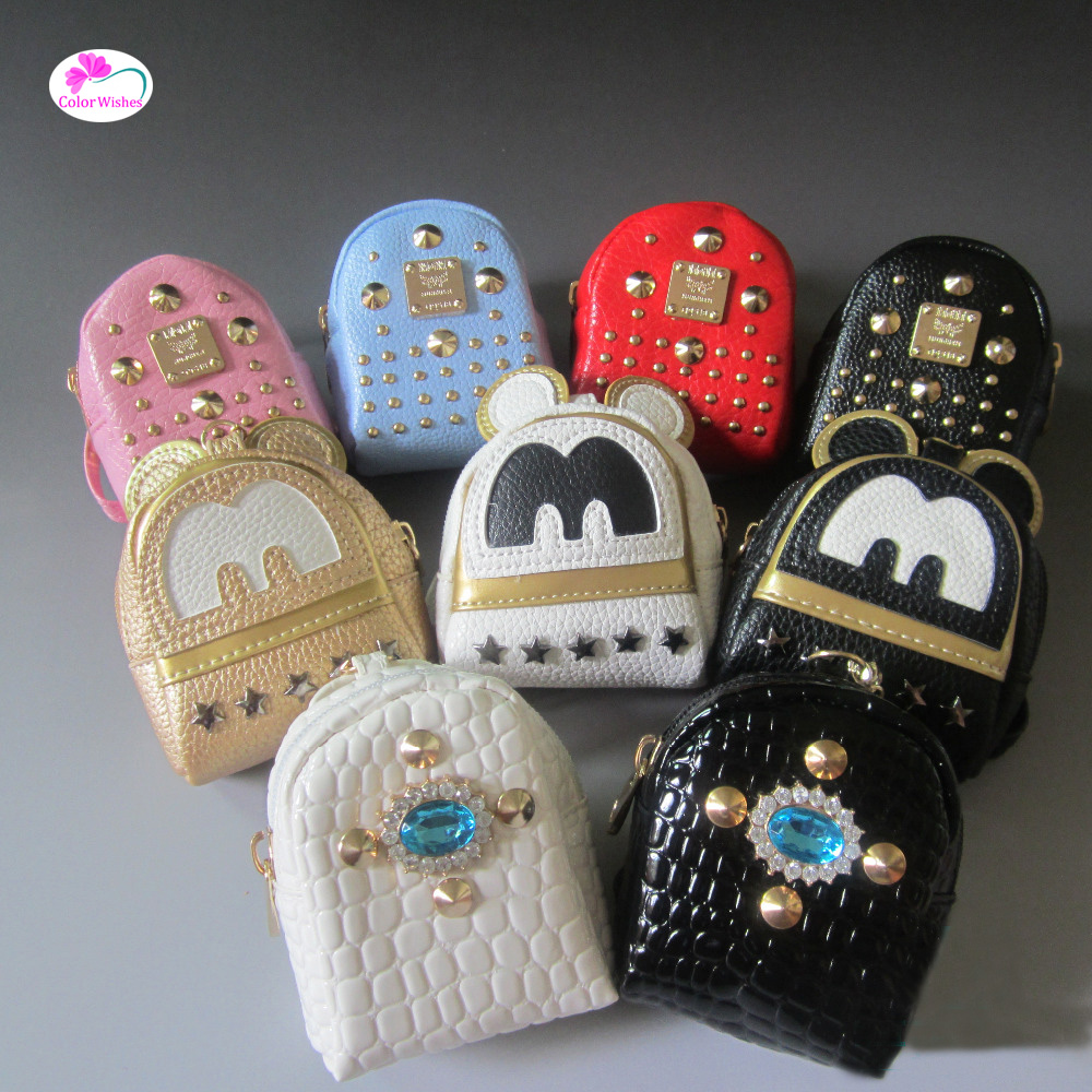 1pcs BJD/SD doll Salon Doll accessories Mini backpack Dollhouse Decoration ccessories