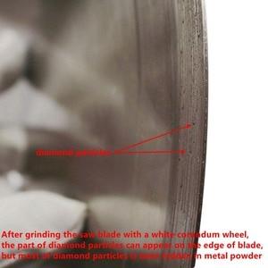 "Image 3 - 20 ""인치 500 mm 소결 다이아몬드 보석 톱 블레이드 원형 블레이드 커팅 스톤 도구 Arbor 1"" 1 1/4 for Gemstone Agate Rock"