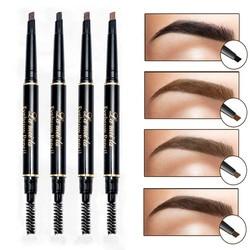 Neue Marke Eye Stirn Farbton Kosmetik Natürliche Lang Anhaltende Farbe Tattoo Augenbrauen Wasserdicht Schwarz Braun Augenbraue Bleistift Make-Up