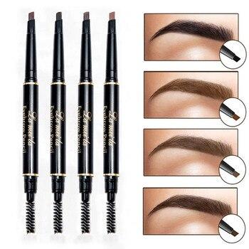 New Brand Eye Brow Tint Cosmetics Natural Long Lasting Paint Tattoo Eyebrow Waterproof Black Brown Eyebrow Pencil Makeup