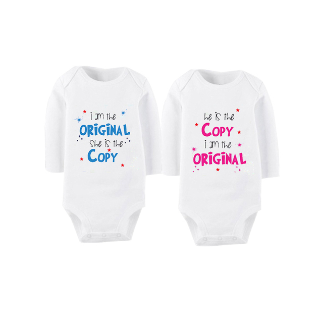 3b65fff4c563 Culbutomind 2018 New born Summer Clothes for Twin Boys and Girls ...