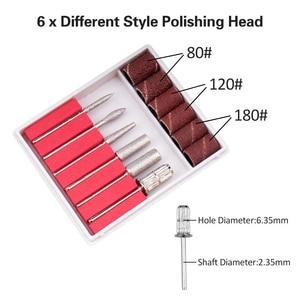 Image 5 - Electric Micro Engraver Pen Mini Diy Vibro Engraving Tool Kit For Metal Glass Ceramic Plastic Wood Jewelry With 6 Polishing Head