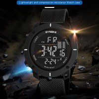 SYNOKE Luxury Brand Sport Watches Men Famous LED Digital Watch Male Electronic Wrist Watch Clock Hodinky
