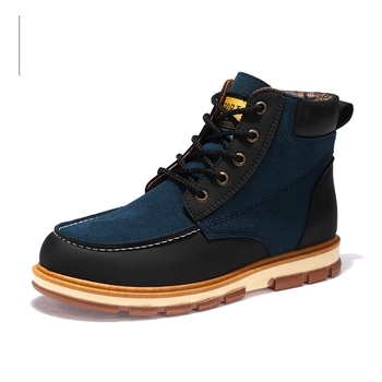 Nice Great Newest Men Winter Boots High Quality Leather Wear Resisting Casual Shoes Working Fahsion Men Boots Plus Size 26~76