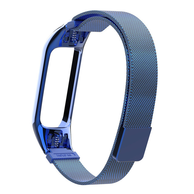 New Unique Elegant Luxury Design Milanese Magnetic Loop Wrist Strap Band Stainless Steel Wristband For Xiaomi Mi Band 3 Watch | Watchbands