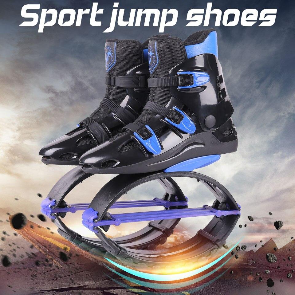 Homens Tonificação Tênis Bounce Calçados Esportivos das mulheres Sapatos de Salto de Canguru Salta Botas Tamanho 19/20