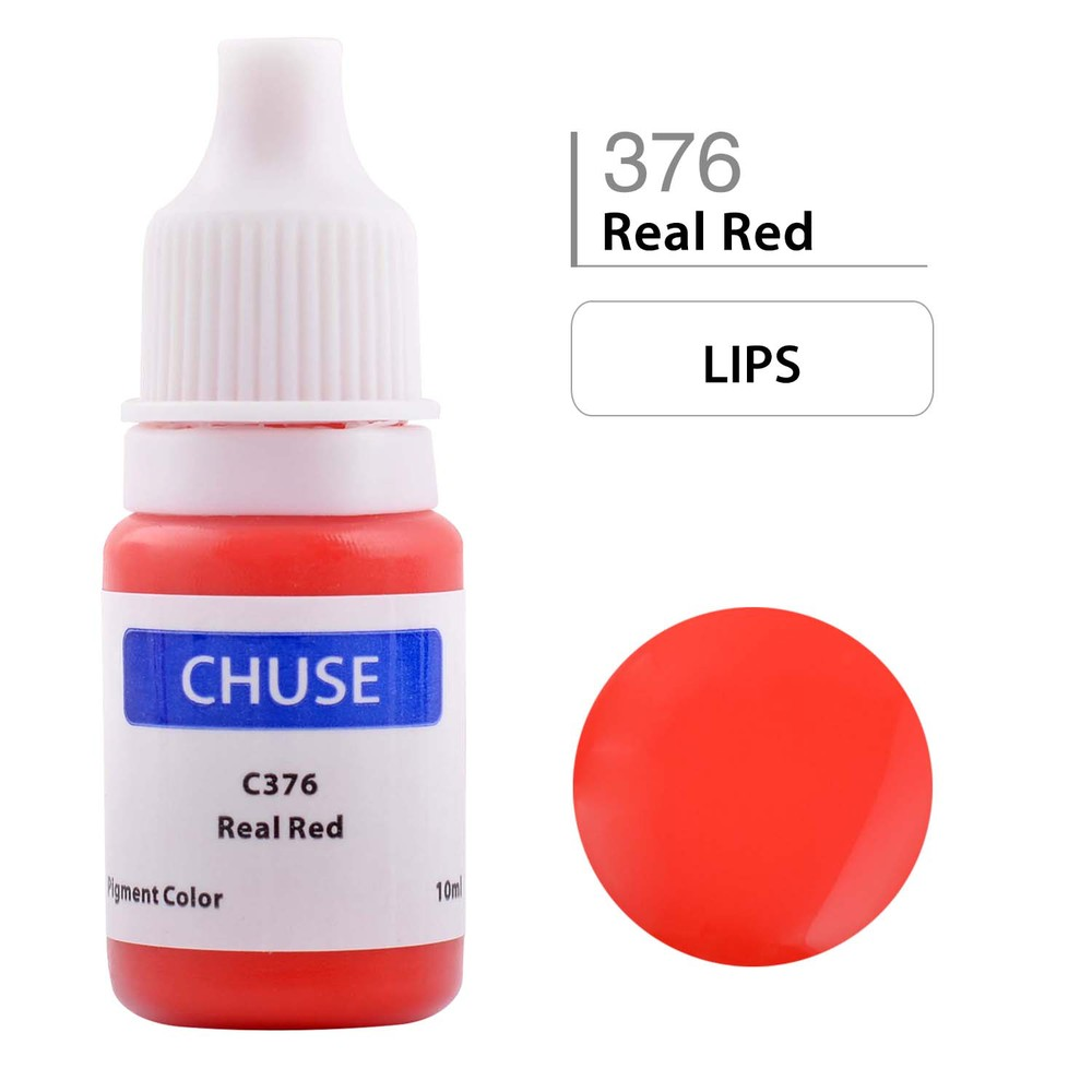 CHUSE J01 Permanent Tattoo Ink Makeup Pigment kit Supply For Eyebrows Lips Tattoo 12 Golden Rose Colors 2