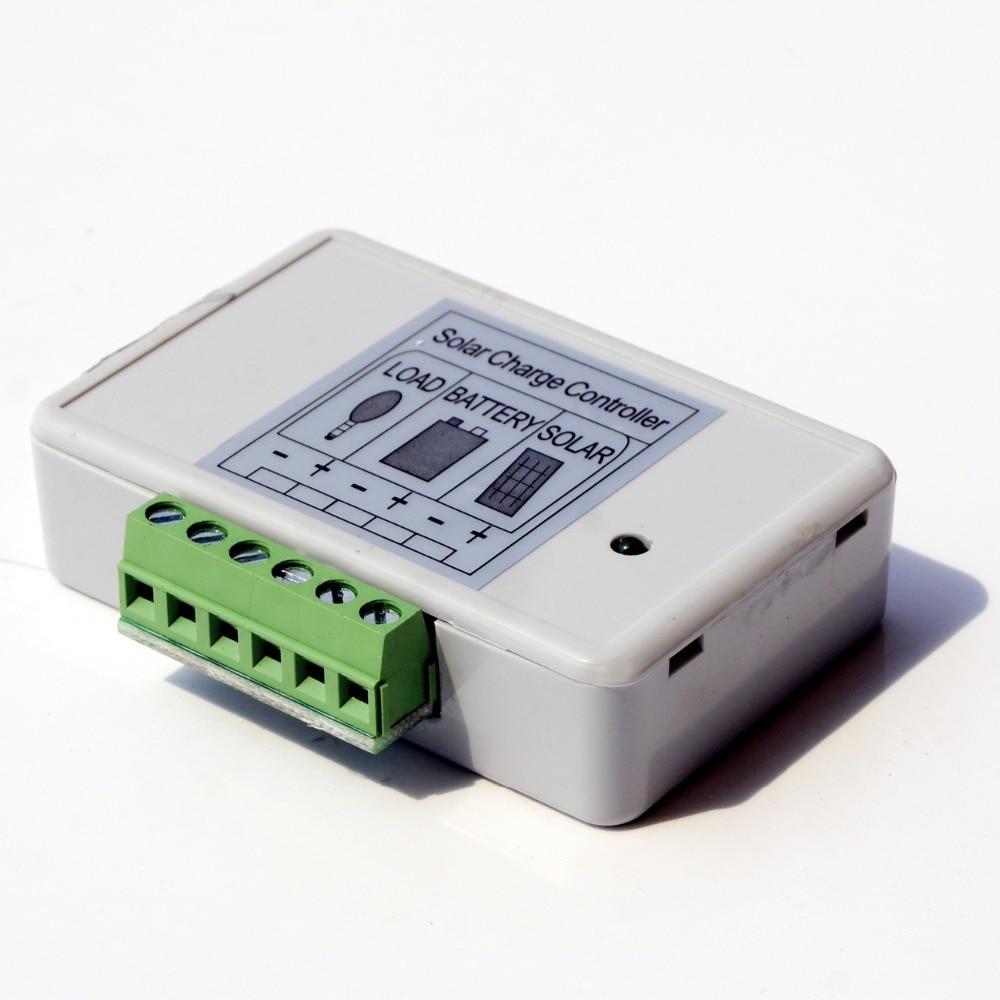 ECO-WORTHY 3A PWM Solar Panel Charge Controller 12V//24V Battery Regulator