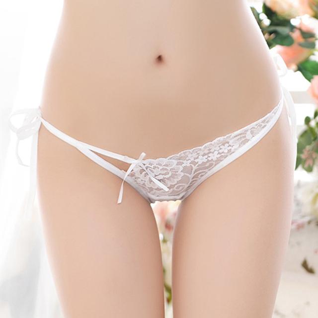 Underwear Women Panties Lace Transparent Low Waist Briefs Sexy Panties Sexy Women Bandage Comfortable Underpants