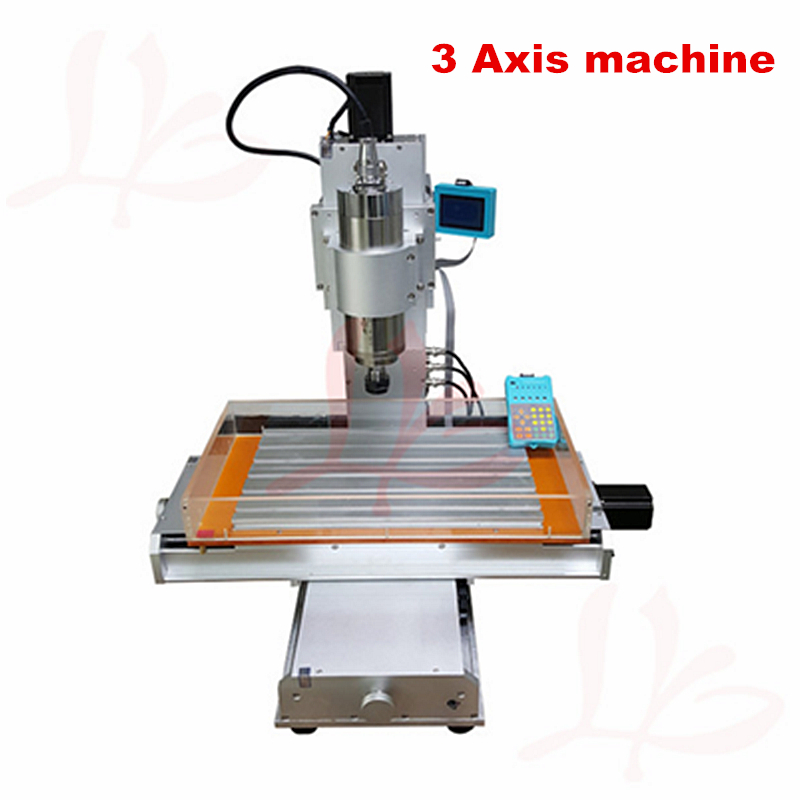 Vertical engraving machine CNC 3040 cnc milling 3axis can upgrade to 4 axis 5axis pillar CNC 2017 hot sale model 5 axis cnc engraving