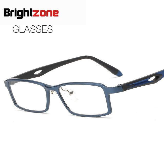 2017 Homem da mala de Alumínio E Magnésio Espelho De Vidro Liso Bloco Tipo de Assuntos de Negócios Miopia Óculos de Armação Espetáculos de Vidro Liso