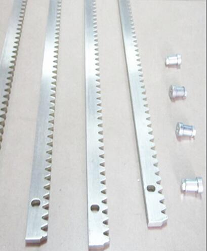 Steel Gear Teeth Track For Gate 0perator  Includes Mounting Hardware