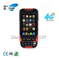 3G/4G Wifi Bluetooth Gps Handheld Portable Mobile 1D Rugged Android Barcode Scanner With Button