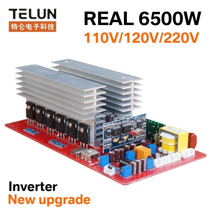 6500W Peak 13000W DC12V/24V/36V/48V/60V to AC 220V sine wave inverter motherboard for DIY solar energy generation / backup power Комедон