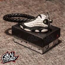 c8ba922a28d AIR JORDAN 13 Jordan 13 Panda Sneakers Stereo 3D Model Keychain Bag Pendant  Couple Keychain Backpack Pendant Christmas Gift