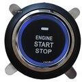 Universal impulso start stop botão engine start stop button trabalhando com carro interruptor de ignição