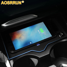 Mobile phone QI wireless charging Pad Module Car Accessories For BMW X3 G01 2018 20i 30i 20d 30d