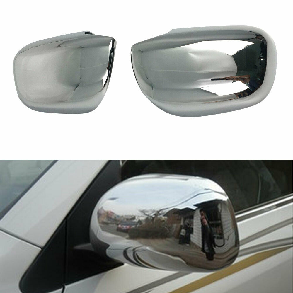For Toyota RAV4 2009 2013 ABS Chrome Car Rear View Side Mirror Cover Trim Overlay