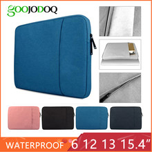 Laptop Bag for Macbook Air 13 11 12 15 Pro 13.3 15.4 Retina Case Sleeve 14 15.6 inch Notebook Bag Pouch for iPad Tablet Lenovo(China)