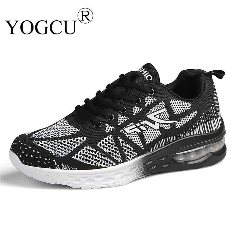 Mens sports shoes flying woven breathable cushioning wear-resisting basketball Superstar running shoes