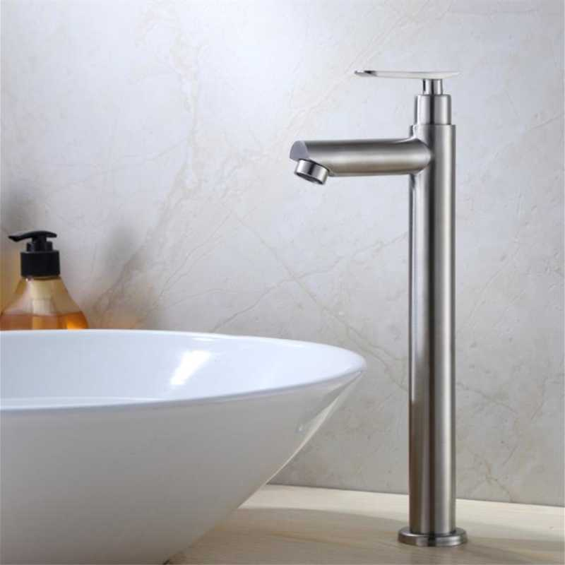 単一のコールド浴室の蛇口の滝盆地タップ水タップキッチン蛇口浴室 Torneira 流域水栓