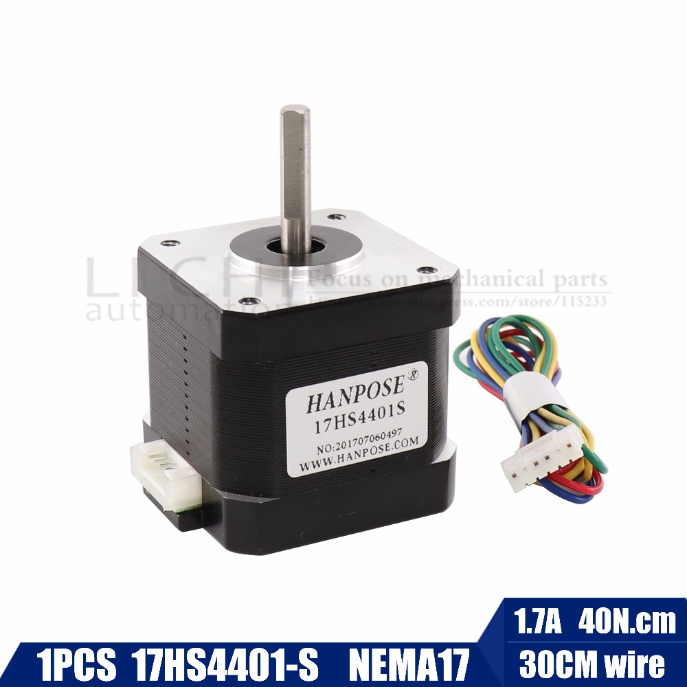1PCS 4-lead Nema 17 Stepper Motor 42 motor 17HS8401 1.8A CE CNC Laser