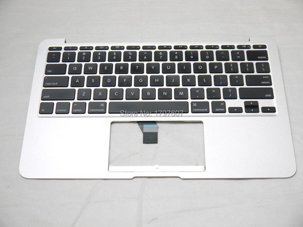 "11/"" Apple MacBook Air A1370 Top Case Keyboard Trackpad 661-6072 Mid 2011"