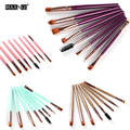 High Quality 8Pcs/set Professional Makeup Brush Set Eye Shadows Lipsticks Powder Make Up Brushes Synthetic Hair Brush Kit Tools