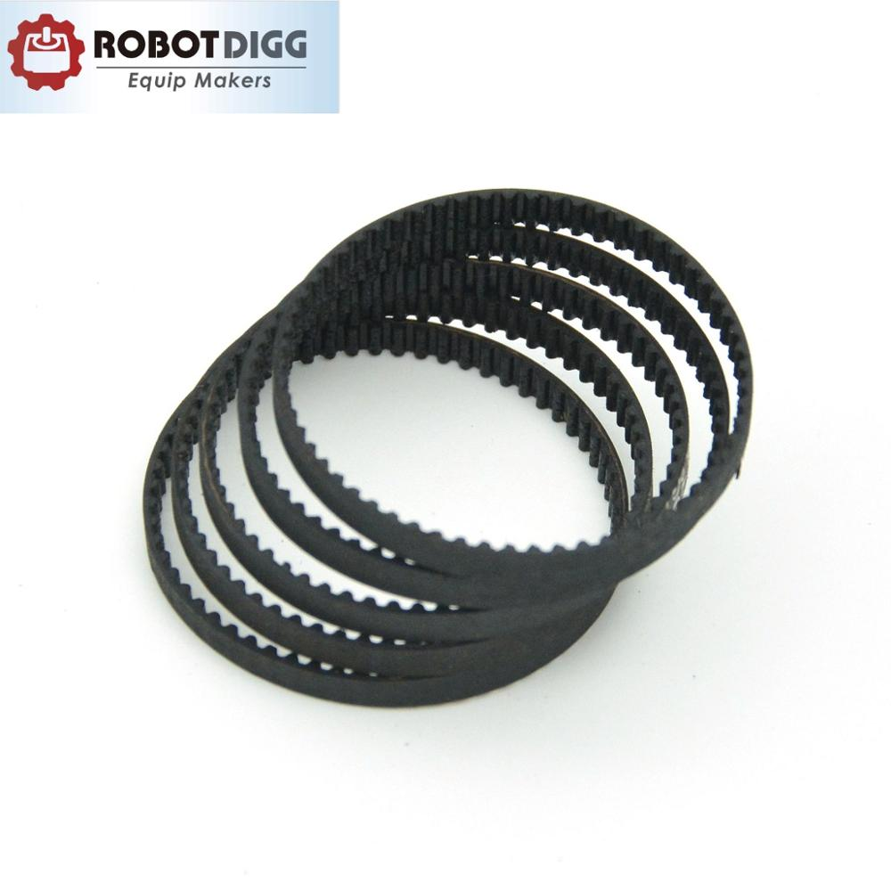 90mm 2 pieces each GT2 Closed Timing Belt 6 mm Wide