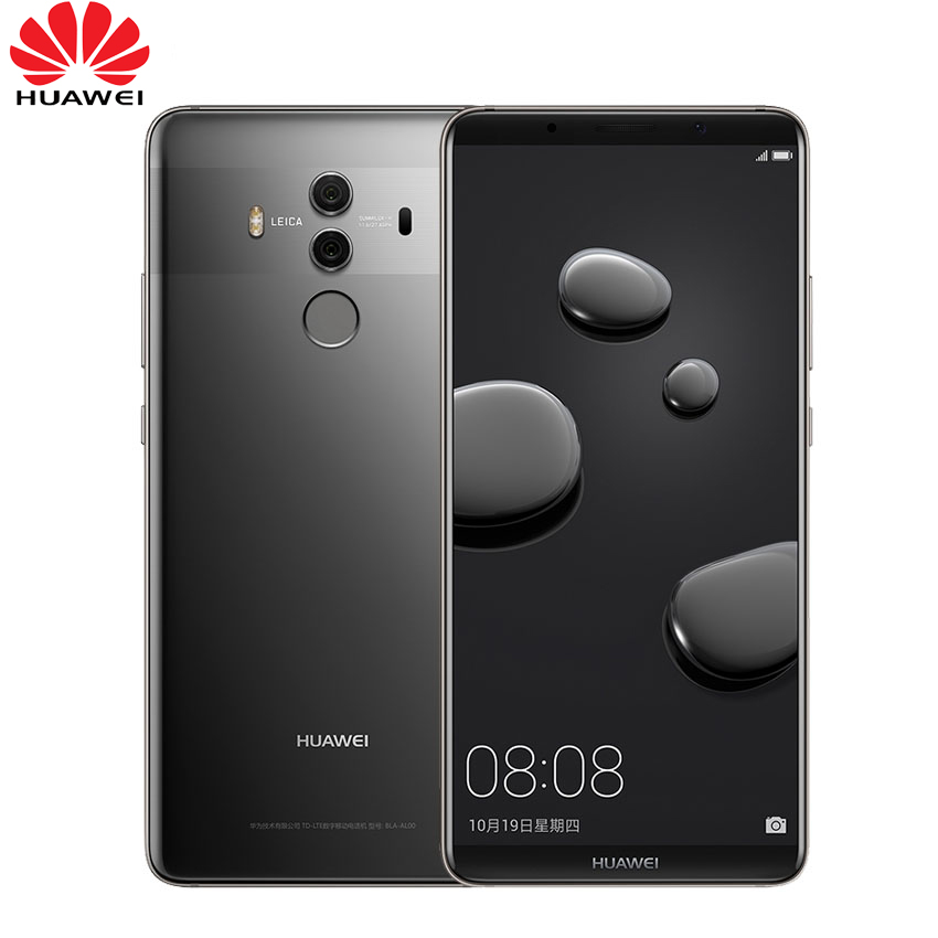 Global Firmware Huawei Mate 10 Pro 6GB 128GB Smartphone Android 8 0 Dual Rear 20MP 12MP