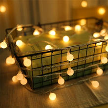 Рождественская светодиодная гирлянда с 28 шариками 5 м