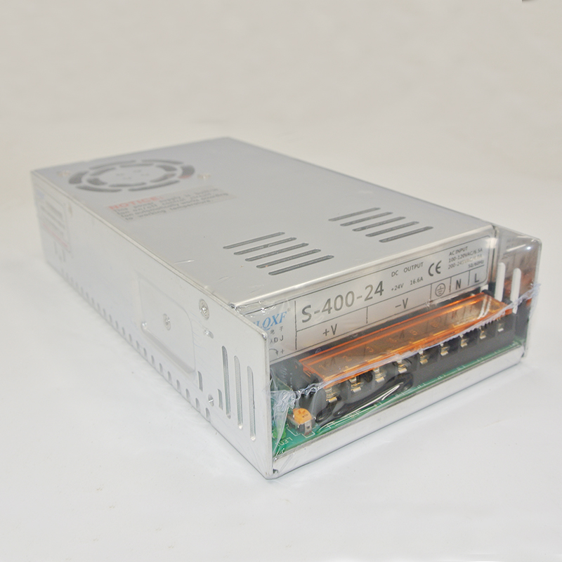 Best quality S-400-24 24V 17A 400W Switching Power Supply Driver for LED Strip AC 100-240V Input to DC 24V 1pcs 3v 12a 60w switching power supply 3v 12a driver for led strip ac dc 100 240v input to dc3v s 60 3