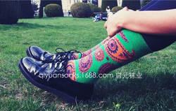Модный бренд холодный цвет влюбленных Носки хлопок мультфильм Улица Скейтборд Повседневная мужская носок женские носок