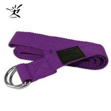 Yoga Pilates Stretching Band Belt Strap Accessory Fitness Bodybuilding Workout Exercise Belt Band