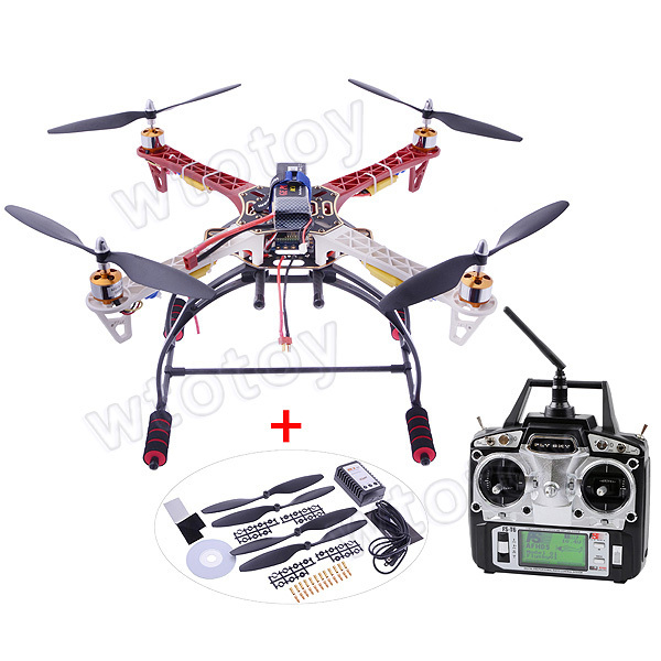 F450 Multicopter Quadcopter Frame Kit/4-axis Frame Kit w / Landing Gear Hot Selling 1045 propeller T6 transmitter 30A ESC 500mm pcb board with landing gear for fpv quad s500 pcb quadcopter multicopter frame kit gopro gimbal f450 rc spare parts