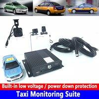 Construido en bajo voltaje/protección de la energía baja vehículo de ingeniería/pequeño coche Control De taxi Suite CSMV6 plataforma de monitoreo