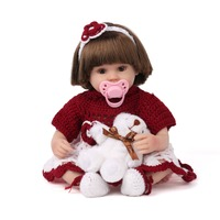 KAYDORA 16 Inches Doll Reborn Baby Soft Silicone Fashion Toys 40cm Little Girl Love Doll Wholesale Bathable Reborn