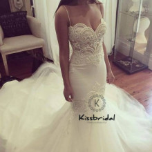 kissbridal boho Romantic Wedding Dress Summer Style