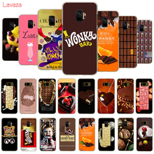 Lavaza Chocolates Pattern Hard Phone Cover for Samsung Galaxy S8 S9 S10 Plus A50 A70 A6 A8 A9 2018 Case