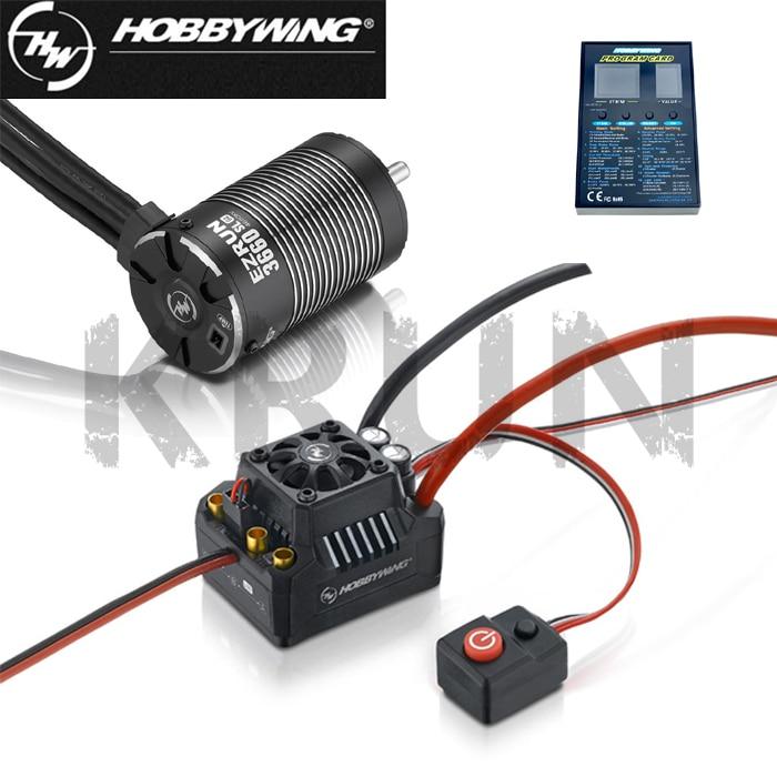Hobbywing EZRUN MAX10 SCT 120A Brushless ESC + LED Programming + 3660 G2 3200KV/4000KV/4600KV Sensorless Motor Set voor 1/10 RC Auto-in Onderdelen & accessoires van Speelgoed & Hobbies op  Groep 1