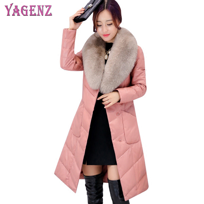 Winter Womens Feather Cotton Jacket 2018 High-Quality Long-term Thicken Warm Hooded Collar Plus Size Women Cotton Jacket 4XL long term sales top quality 100