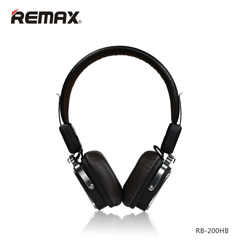 REMAX RB-200HB Wireless Bluetooth4.1 Headphone Earphone Sport Headset Noise Cancelling HIFI Resonance Stereo Vibration for Phone remax rb t2 fashion aluminum bluetooth earphone wireless hd clear sound headset for iphone 5 6 samsung galaxy s4 android phone
