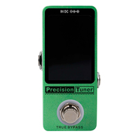 CUVAVE Precision Tuner Guitar Effect Pedal Stompbox for Most Intruments like 6 Strings Bass and 12 Strings Guitar