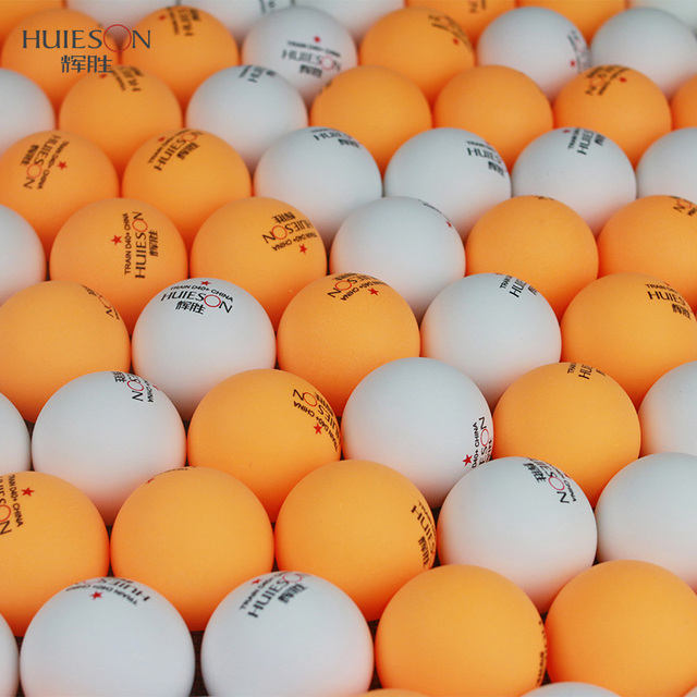 Huieson Plastic Table Tennis Ball Portable 3 Star 40mm