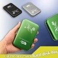 De alta Velocidad de 2.5 Pulgadas De Aluminio USB 3.0 USB3.0 a SATA Cubierta de la Caja HDD HD de Disco Duro Caja externa Caja bolsa