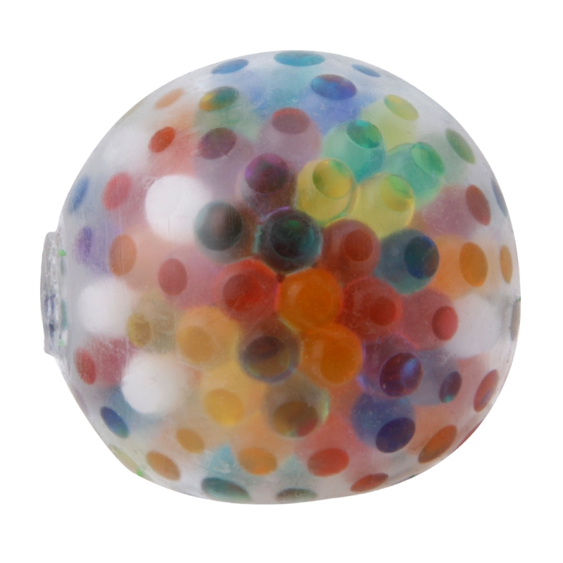 New Rainbow Ball Toy Anti Stress Ball Toy Stress Relief Squeeze Venting Balls-m35