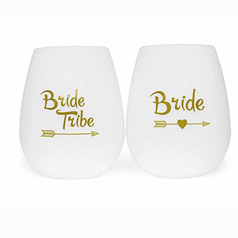 Gold Team Bride Tribe Bridesmaid Groom Tattoo Sticker For Bride To Be Bachelorette Hen Party Bridal Shower Wedding Decoration