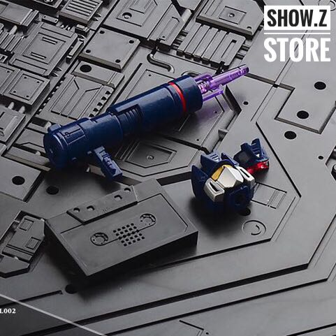 [Show.Z Store] Model Model 002 MP13 MP 13 Upgrade Kits /w Lit Heads, Extra Pistol and Cassette